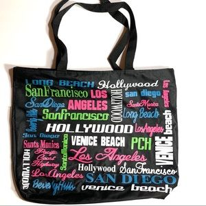 California Cities Tote Bag ❌Final price❌